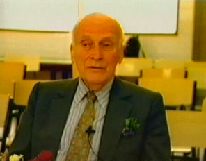 Yehudi Menuhin - visita à Escola de Algés